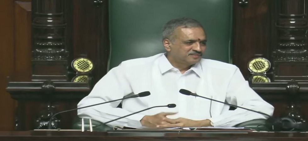 Vishweshwar was the only candidate to file his nomination papers for the post (Photo: ANI)