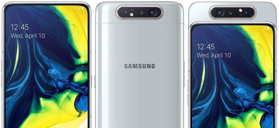 Samsung Galaxy A80 (Photo Credit: Twitter)