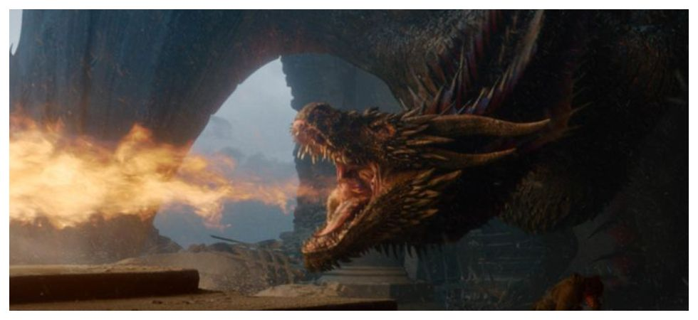 GoT finale script explains why Drogon melted the Iron Throne (Photo: Twitter)