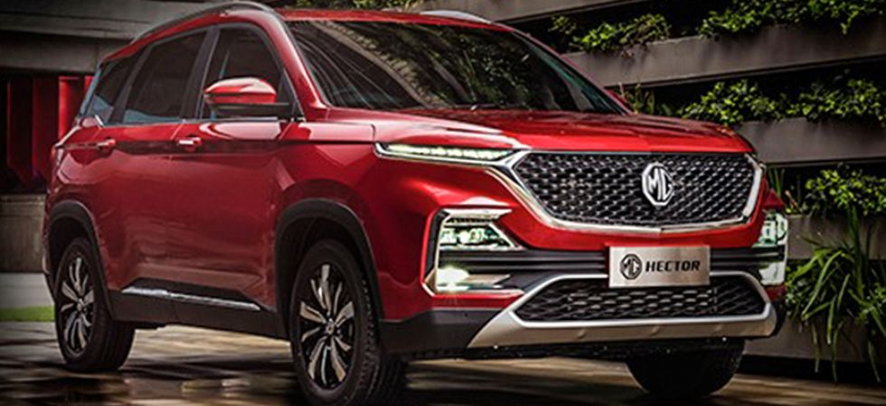 MG Hector SUV (Photo Credit: Twitter)