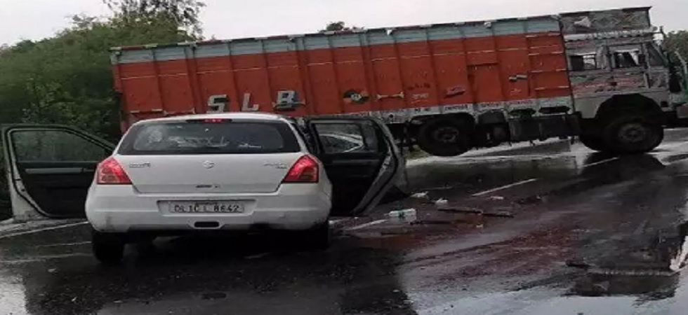 In the accident involving victim's car and a truck, the girl and her lawyer were severely injured. Two aunts of the victim had died in the accident. (PTI)