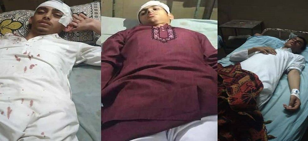 The Muslim youth were admitted to a hospital and are undergoing treatment.