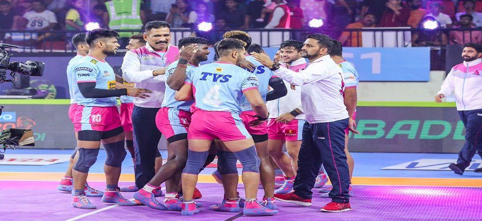 Jaipur Pink Panthers beat Patna Pirates. (Photo: Twitter/@ProKabaddi)