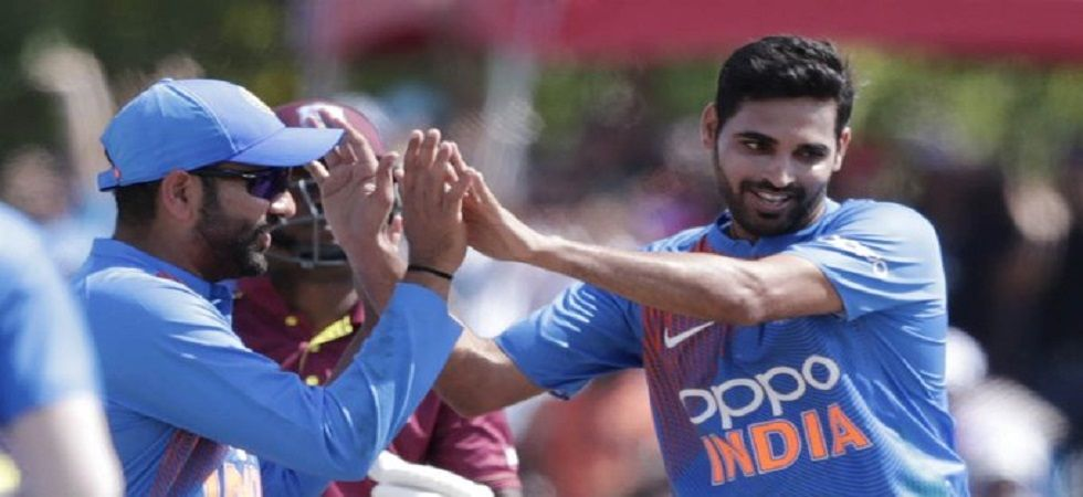 India won the match by 22 runs via DLS method against West Indies to take an unassailable 2-0 lead in the series. (Image credit: Twitter)