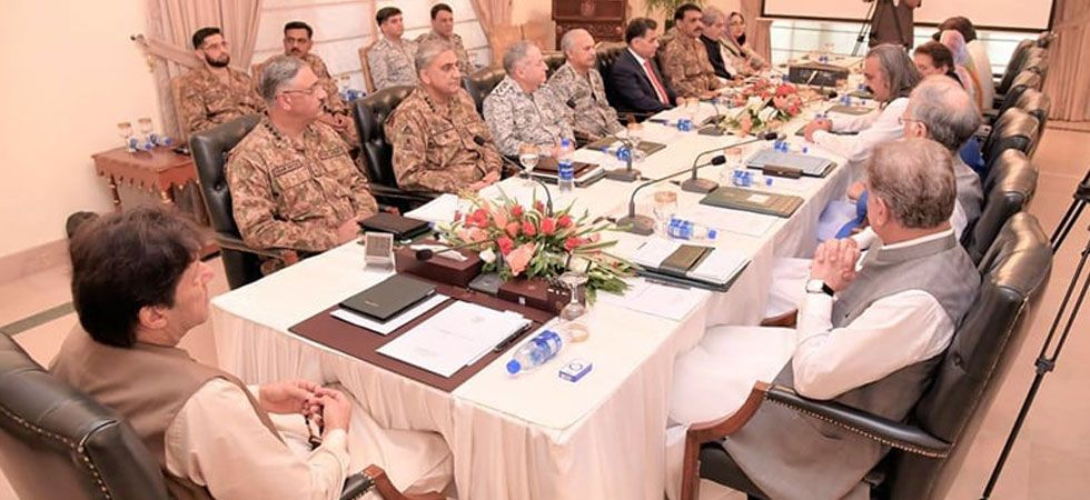 Pakistan Prime Minister Imran Khan called the National Security Committee on Sunday. (Photo: Pakistan PMO)