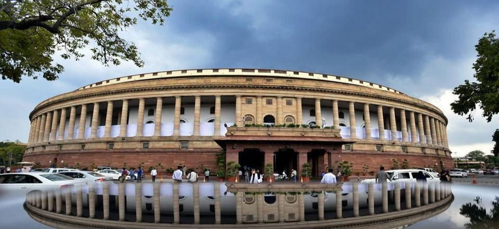 A view of an illuminated Parliament House in New Delhi (Photo Source: PTI)