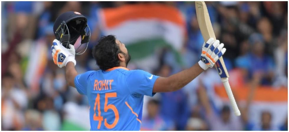 Rohit Sharma broke the world record tally of sixes in Twenty20 Internationals as India took an unassailable 2-0 lead in the three-match Twenty20 International series vs West Indies. (Image credit: ICC Twitter)