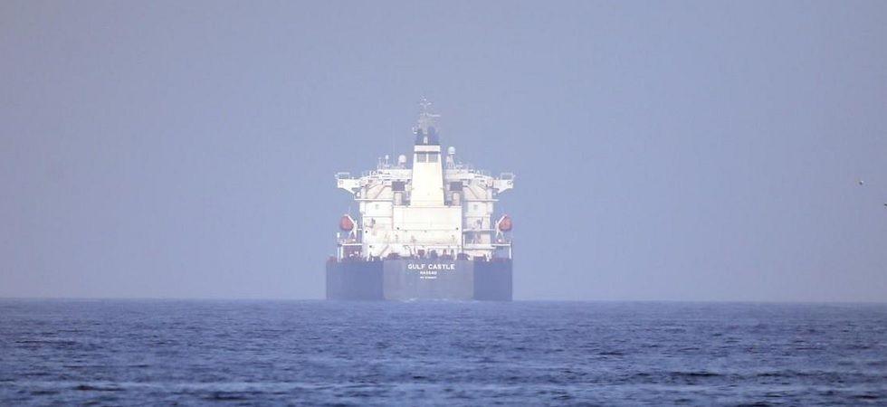 The Islamic Revolutionary Guard Corps seized this ship around Farsi Island