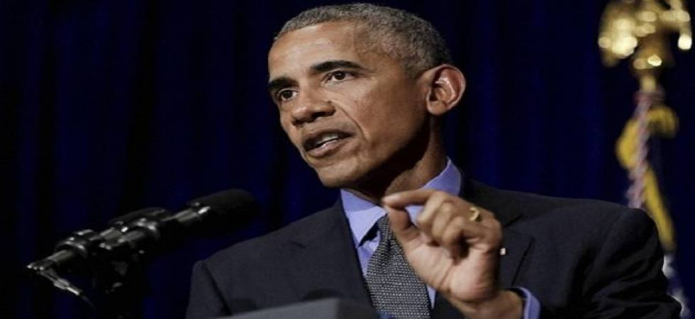 """Such language has """"been at the root of most human tragedy throughout history,"""" Obama added. (File Photo)"""