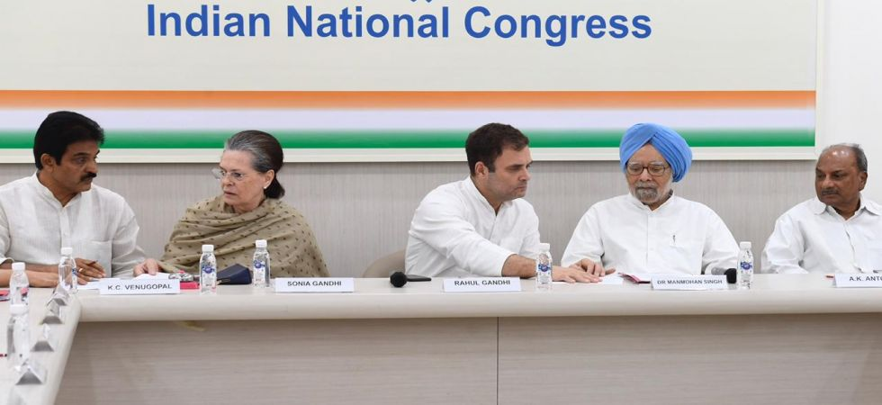 Congress Working Committee meeting (Photo Source: News Nation)