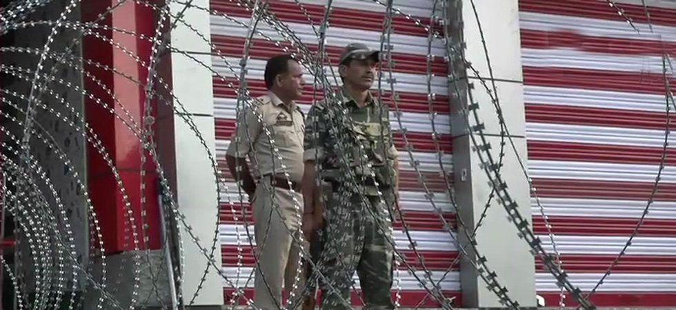 Jammu and Kashmir Governor Satya Pal Malik on Monday night reviewed the security situation. (File Photo: ANI)