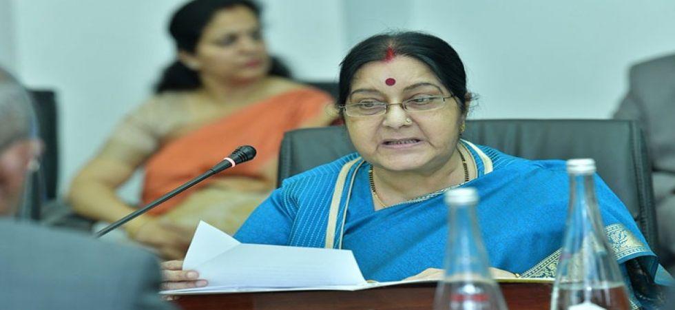 Former Union Ministers Sushma Swaraj (File Photo)