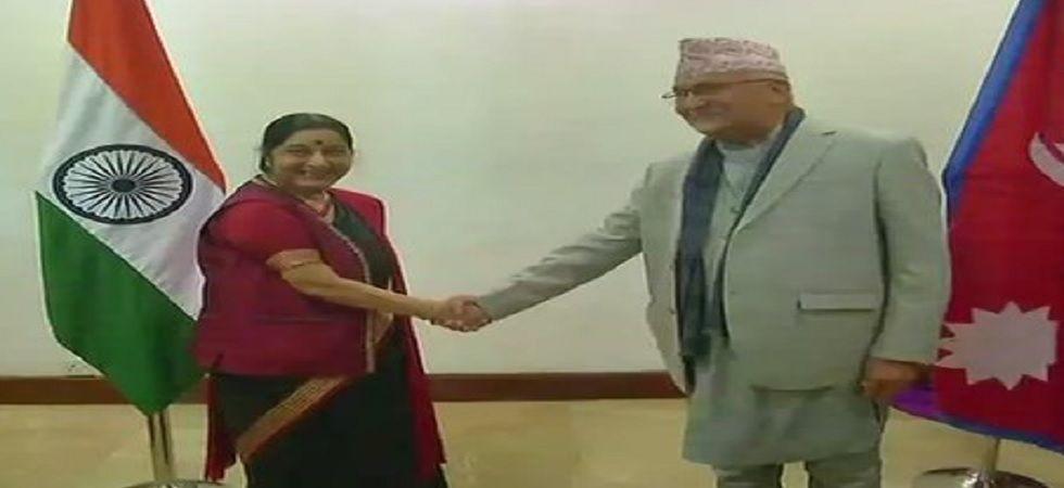 Nepal Prime Minister KP Sharma Oli on Wednesday condoled the demise of former Union minister Sushma Swaraj