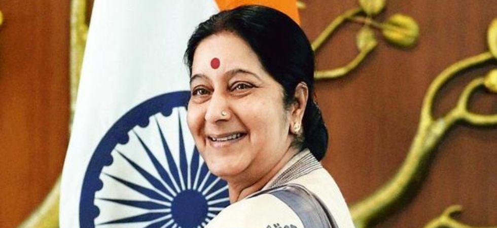 Telangana CM expresses grief at Sushma Swaraj's demise (file photo)