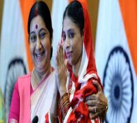 Rescued by Sushma Swaraj from Pakistan, Geeta pays tributes to her 'guardian angel'