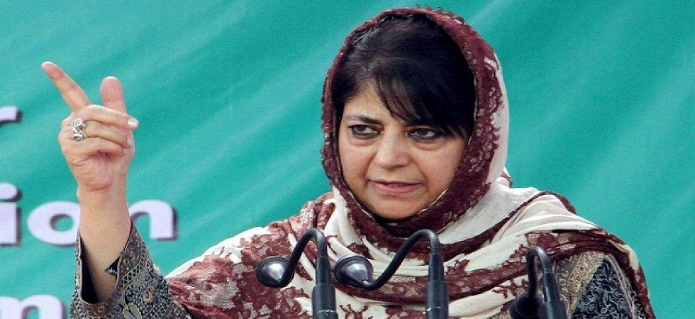 Mehbooba Mufti has been opposing the Centre's move to abrogate Article 370 from the Valley. (File Photo)