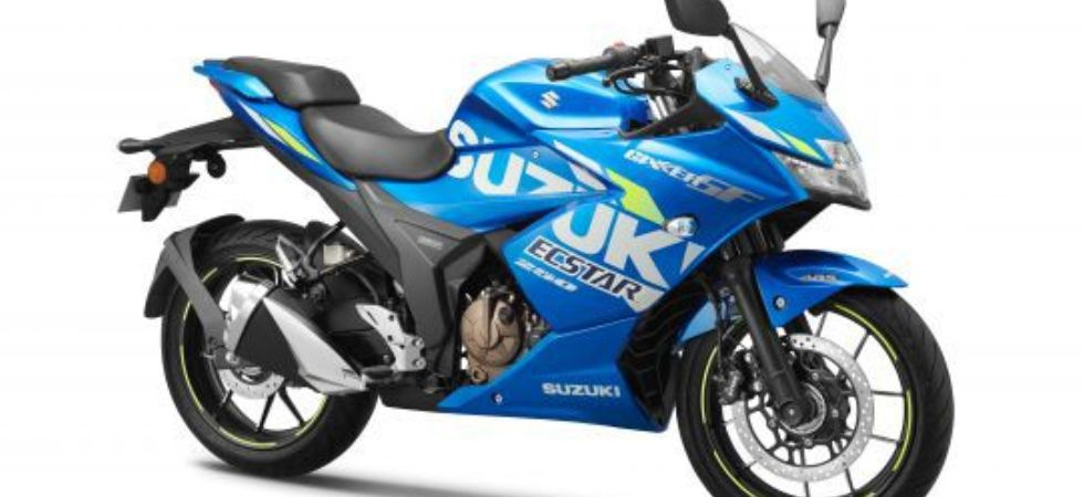 Suzuki Gixxer SF 250 MotoGP Edition (Photo Credit: Twitter)