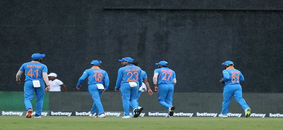 The first ODI between India and West Indies in Providence, Guyana ended in a no result due to rain. (Image credit: BCCI Twitter)