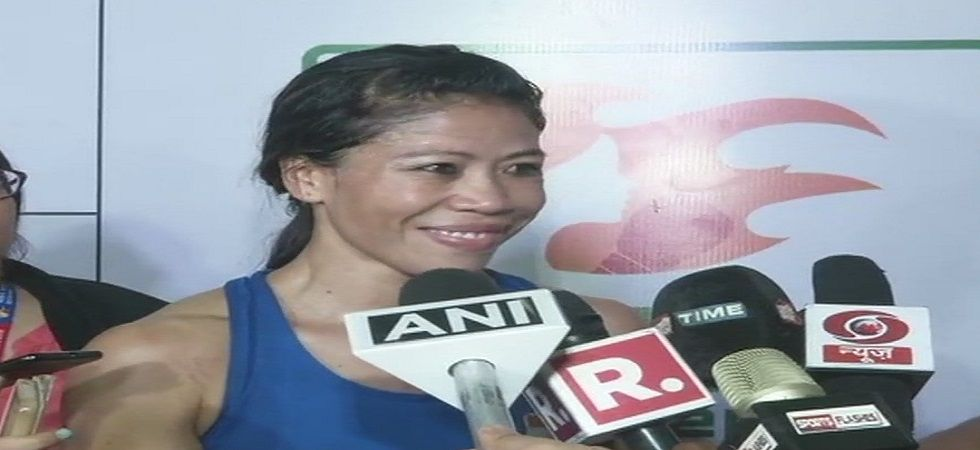 MC Mary Kom has been selected in the 51kg category for the World Boxing Championship without a trial. (Image credit: Twitter)