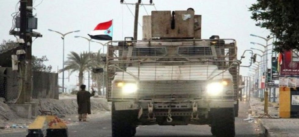 Riyadh-based Yemeni President Abedrabbo Mansour Hadi is backed by the coalition -- led by Saudi Arabia and its ally the United Arab Emirates -- that is battling the Iran-aligned Huthis.