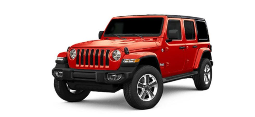 Jeep Wrangler is equipped with a 8.4-inch touchscreen with Apple Car Play, Android Auto and a built-in, pinch-to-zoom navigation feature. (Image Credit: jeep-india.com)