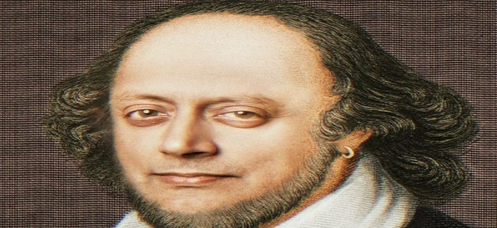 Shashi Tharoor's picture resembles William Shakespeare