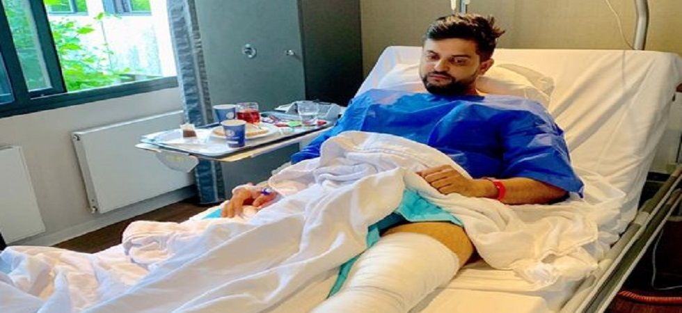 Suresh Raina will miss majority of the domestic season due to a knee surgery. (Image credit: BCCI Twitter)