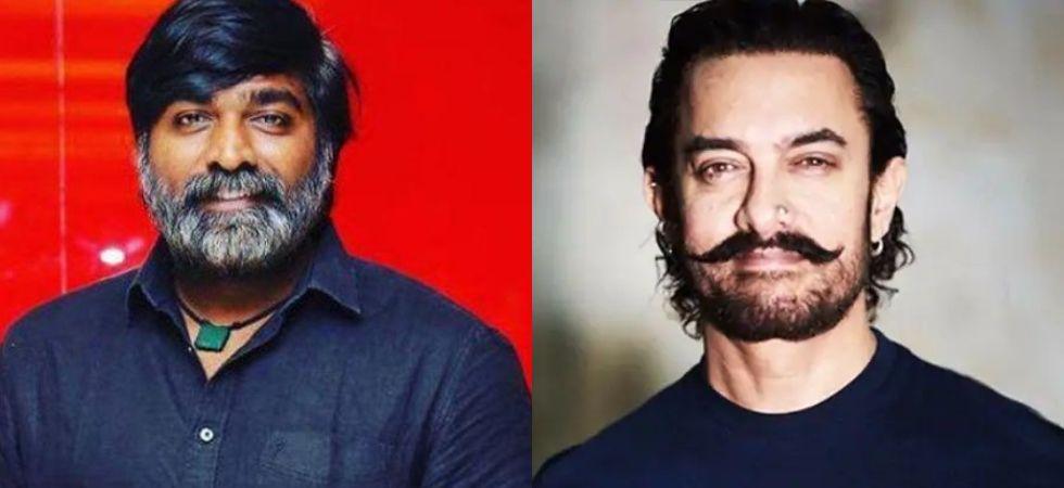 Bollywood star Aamir Khan is set to work with South superstar Vijay Sethupathi.