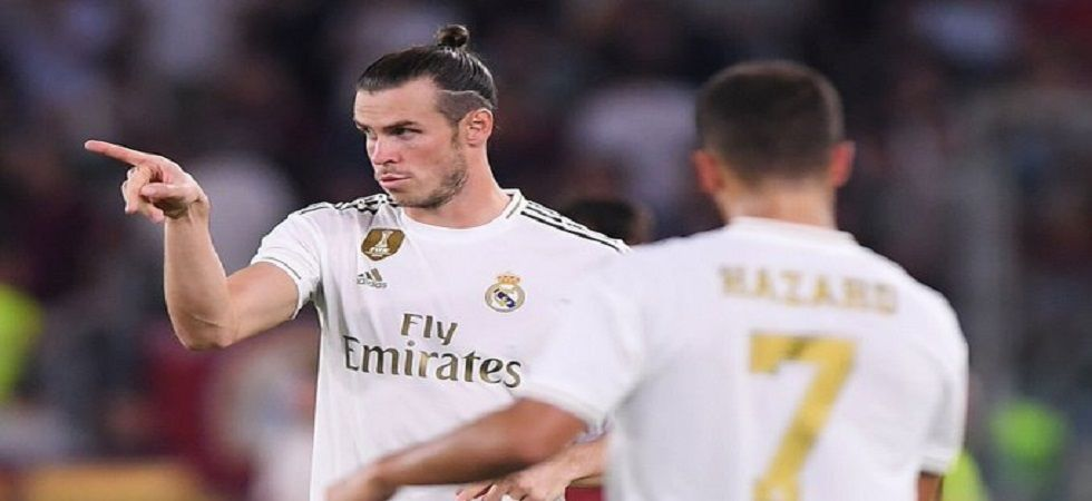 Gareth Bale featured in just his third friendly for Real Madrid as speculations about his future with the club grew. (Image credit: Twitter)