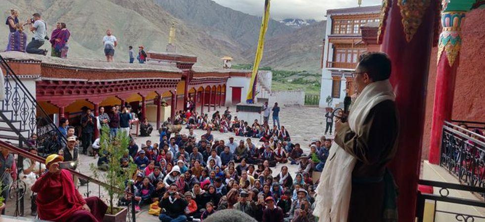 Jamyang Tsering Namgyal (Twitter image)