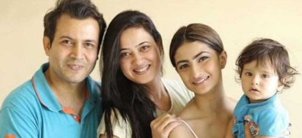 Shweta Tiwari and husband Abhinav Kohli. (Image: Instagram)