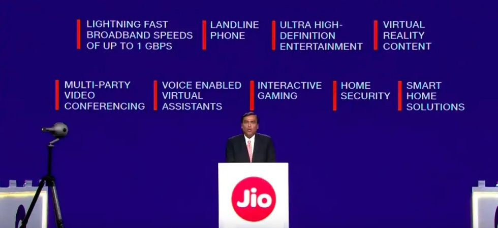 Reliance Jio's bundled broadband - Jio Fiber - will be launched on September 5.