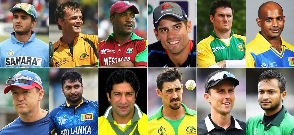 August 13 is World Left Handers day and News Nation prepared a squad of the best left-handed players in cricket. (Image credit: News Nation)