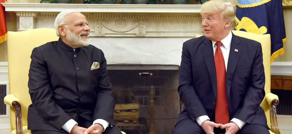 President Donald Trump had earlier said that PM Narendra Modi sought his mediation/arbitration on the Kashmir issue. (File Photo:PTI)