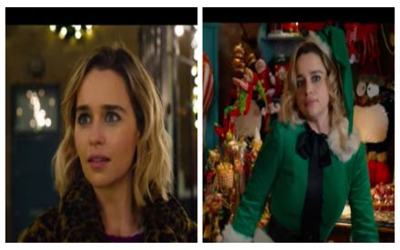 U Tube Last Christmas.Emily Clarke S First Trailer For Last Christmas After