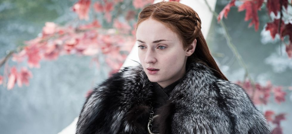 Sophie Turner plays Sansa Stark in GOT.