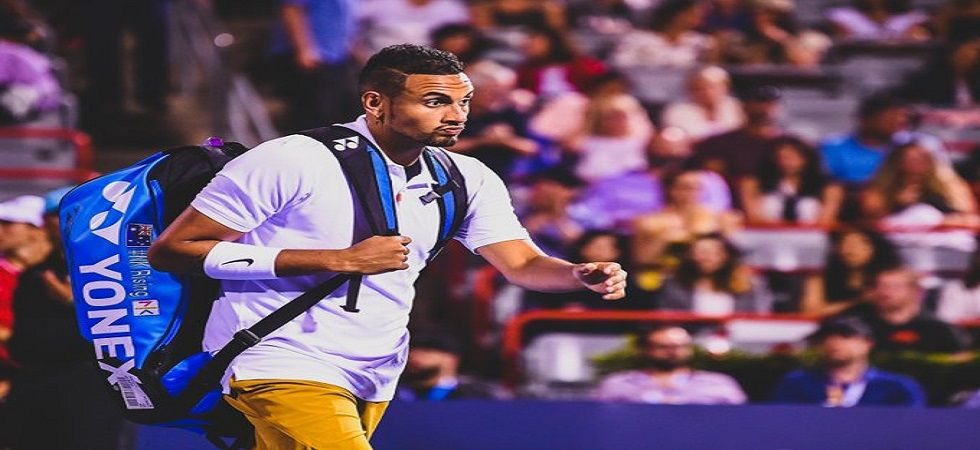 Nick Kyrgios lost lost 6-7 (3/7), 7-6 (7/4), 6-2 to Karen Khachanov and was was fined USD 113,000 after his explosive Cincinnati Masters meltdown which saw him smash two racquets, launch an abusive tirade at the chair umpire before appearing to spit at th