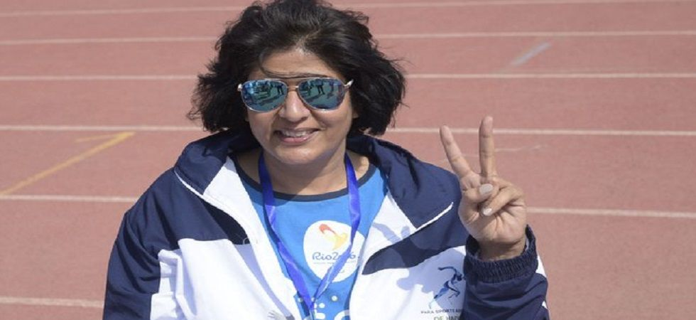 Deepa Malik, who secured a silver in the shot put F53 category in the 2016 Rio Paralympics, was added for the Khel Ratna by a 12-member selection committee. (Image credit: Twitter)