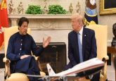 Resolve Kashmir issue with India through bilateral dialogue: Donald Trump to Imran Khan over phone
