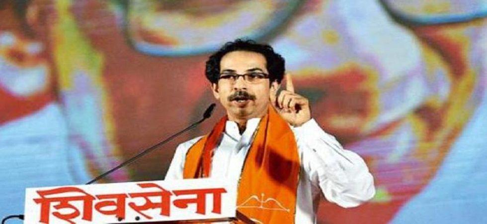 Shiv Sena Chief Uddhav Thackeray. (PTI/file)