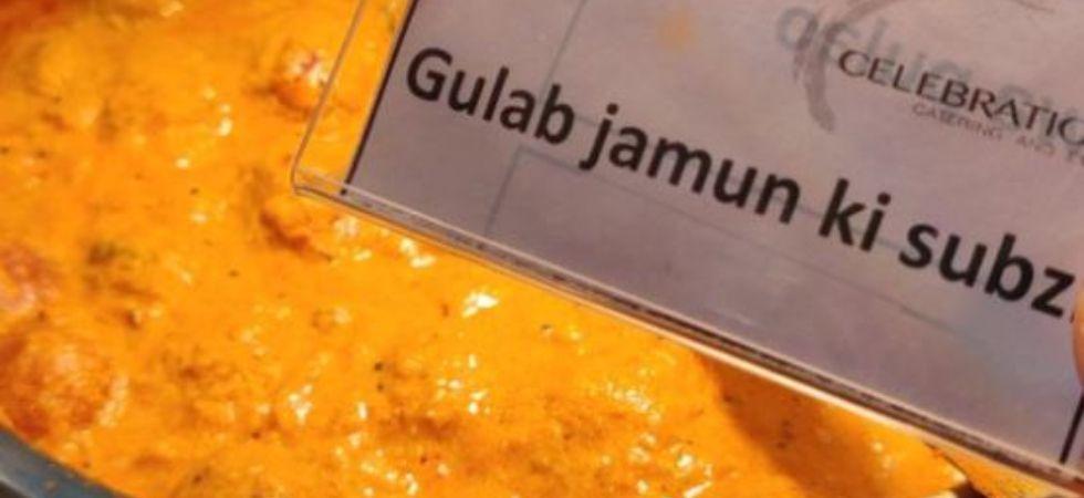 Gulab Jamun Ki Sabzi. (Image: Twitter)