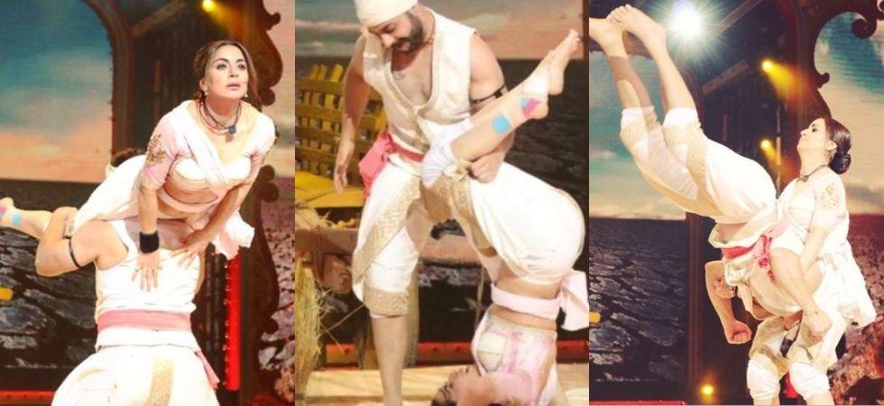 Nach Baliye: Shraddha Arya escapes head injury narrowly during performance