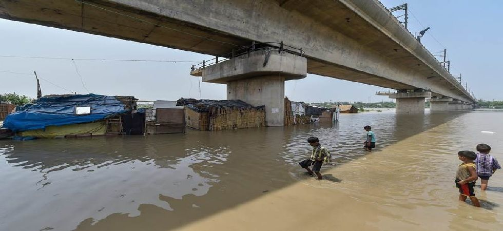 Water level of the river was recorded at 204.70 metres after more than 8 lakh cusecs of water released from Haryana's Hathni Kund barrage (File Photo: PTI)