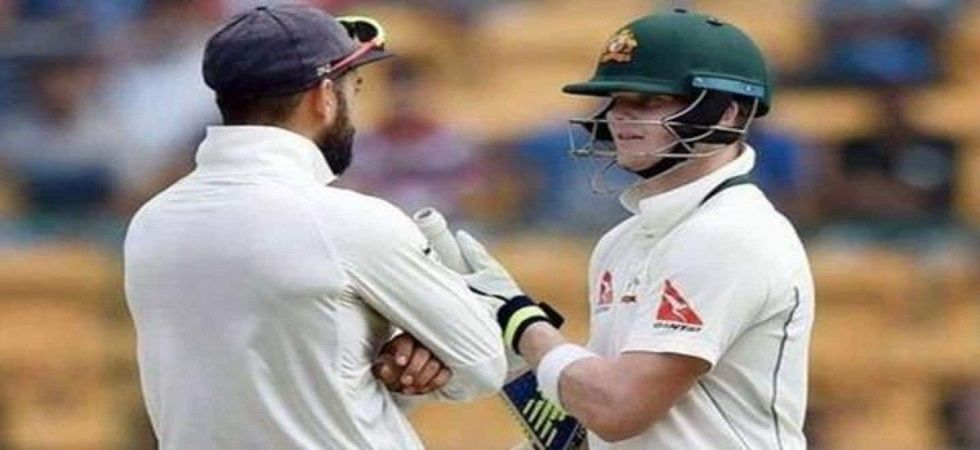 Virat Kohli is still on top of the ICC Test rankings but Steve Smith has closed the gap to nine points in the latest ICC Test rankings. (Image credit: Twitter)
