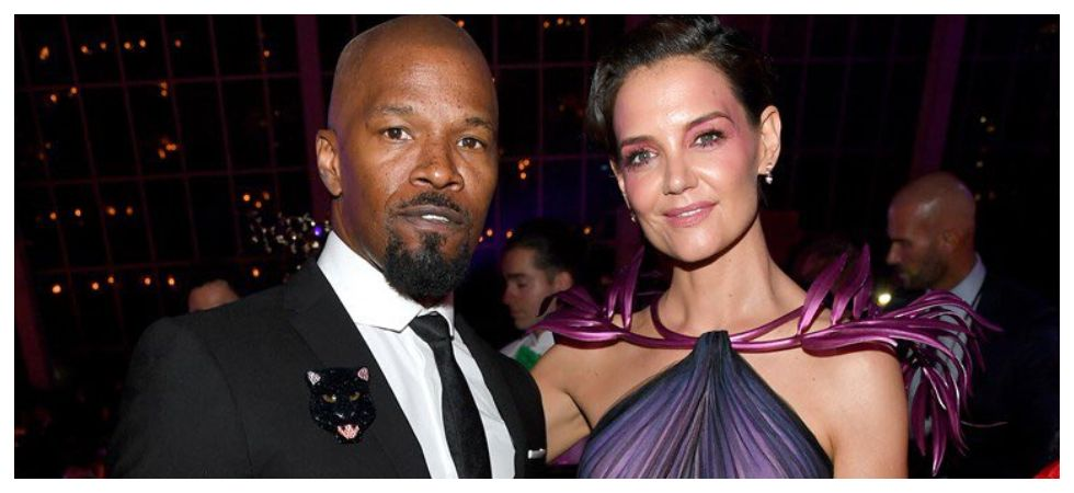 Jamie Foxx and Katie Holmes have officially parted ways (Photo: Twitter)