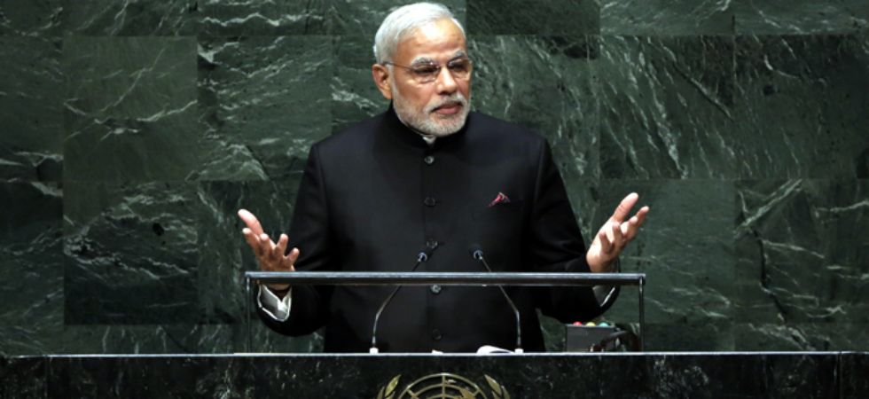 PM Modi had addressed the 69th UNGA in September 2014.