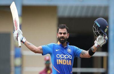 Virat Kohli a win away from equalling Dhoni's record