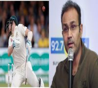 'Why would you show your neck to the bowler?': Virender Sehwag brushes aside neck guards in helmets