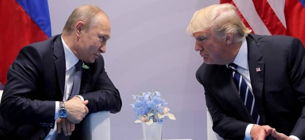 US President Donald Trump expressed support Tuesday for Russia's return to the G8. (File Photo)