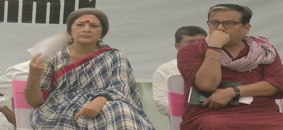 Opposition parties protest at Jantar Mantar